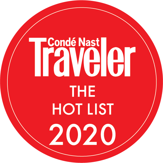 Conde Nast Traveler THE HOT LIST 2020